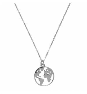COLLAR WORLD SILVER GRANDE-0