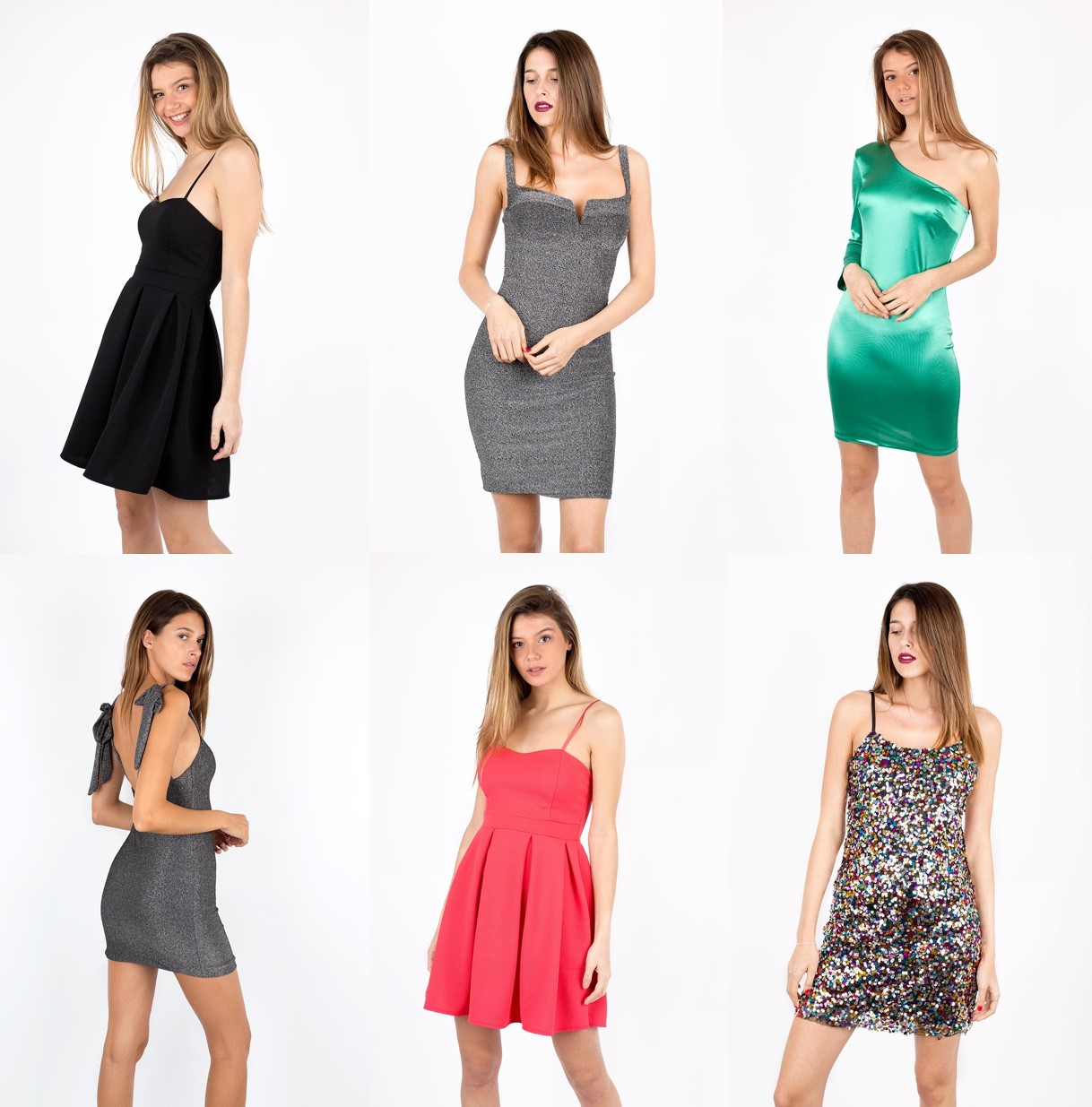 vestidos largos y cortos_2