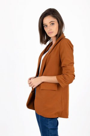 BLAZER SMOKING CAMEL-8328